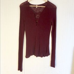 Intimately Free People Long Sleeve Top